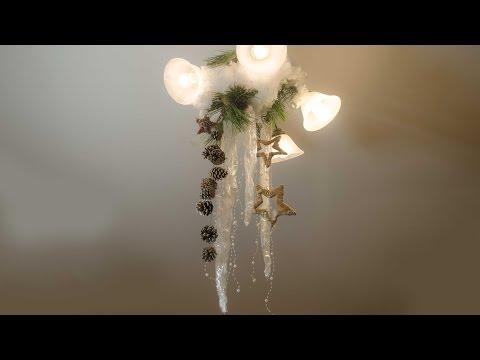 Новогоднее оформление дома к празднику своими руками (Мастер класс) смотреть в хорошем качестве