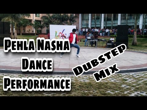 Pehla Nasha lyrical Dance Choreography |  Dubstep As long as you love me | Mirror illusion