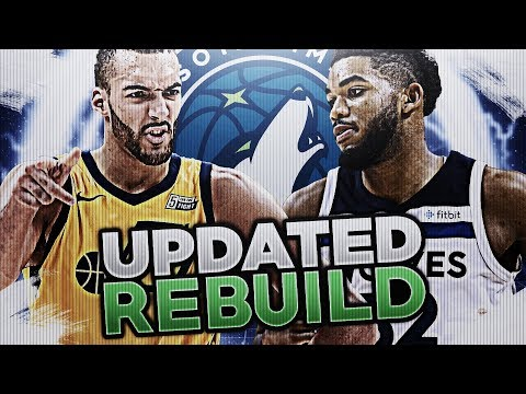 95 OVERALL STUD! UPDATED TIMBERWOLVES REBUILD! NBA 2K18