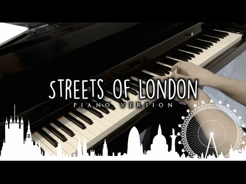 Ralph McTell - Streets of London | Piano Version