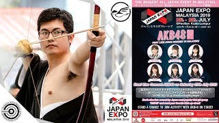 JAPAN EXPO MALAYSIA 2019! ジャパンエキスポマレーシア 2019!Kyudo (弓道), Kendo (剣道), & AKB48 Highlights!