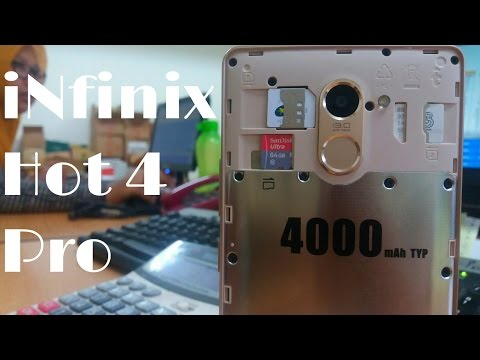 Unboxing Infinix hot 4 PRO (X556) - hape Murah spek TerLengkap