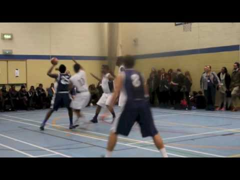 Harrow High Basketball: HHS v Greig City Academy (Feb 2014)