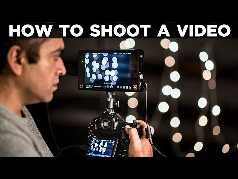 HOW TO SHOOT A VIDEO ON YOUR DSLR CAMERA | Film Making | Tutorial