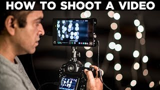 How to film or shoot a video on your DSLR camera | DSLR FilmMaking | Tutorial