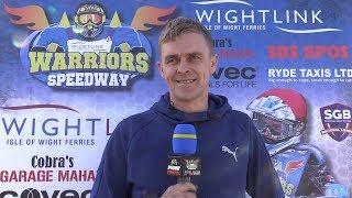 Shaun Tedham Pre Meeting Interview : 03/05/2018