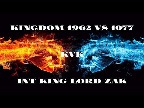 Clash Of Kings: Kvk 1962 Vs 1077! INT Alliance Lord Zak [Monster Kills] (2018)