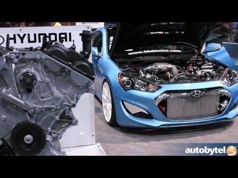 Hyundai Crate Engines Overview @ SEMA - Genesis Coupe Lambda/Theta