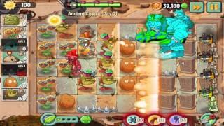 Plants vs Zombies 2: Ancient Egypt Day 31 Walkthrough