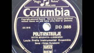 Politipatrulje - Louis Preil; Helge Rungwald 1937