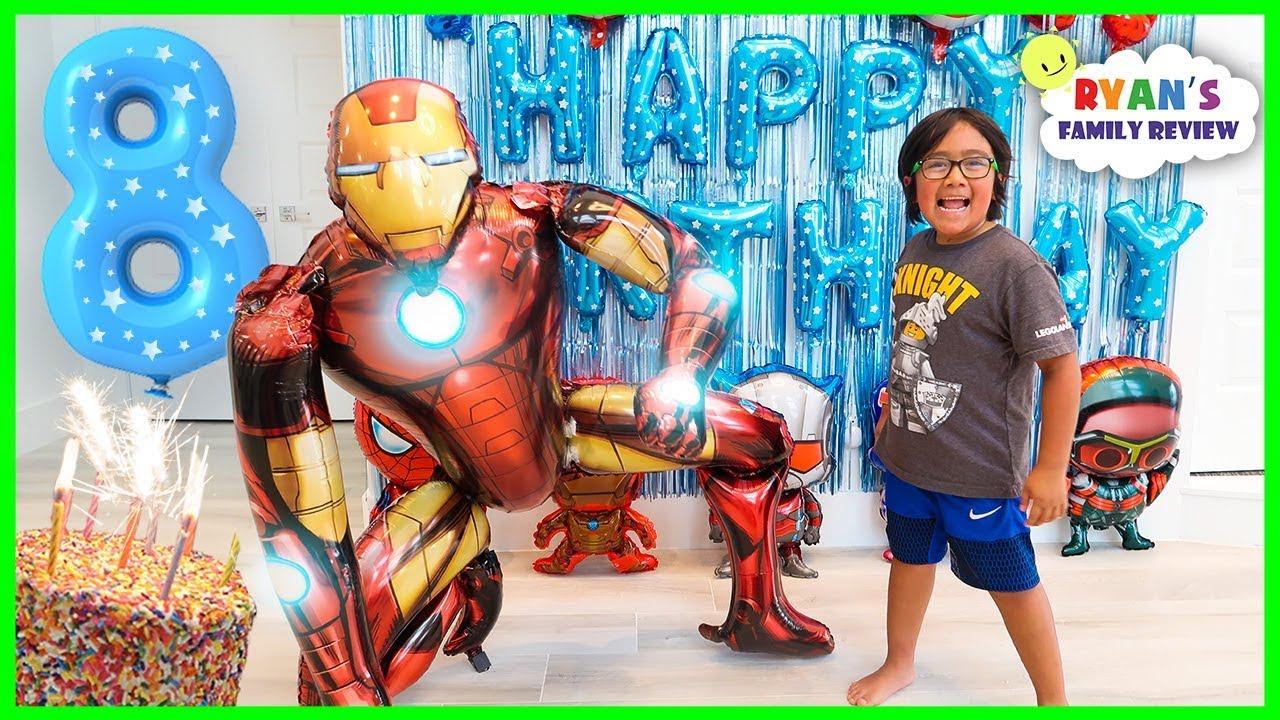 Download Ryan's 8th Happy Birthday Celebration Special!!!!