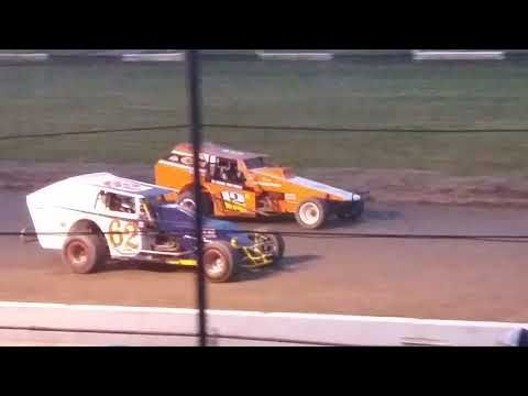 Vintage Replica Modified Feature @Fonda Speedway on 6/1/19