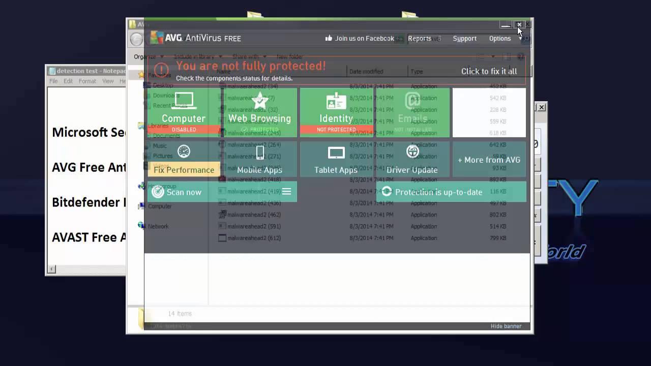 microsoft security essentials vs avast free