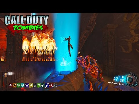 SCARY HORROR RITUAL MAP - BLACK OPS 3 CUSTOM ZOMBIES GAMEPLAY! (BO3 Zombies)