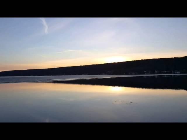 Keuka Lake Sunset March 2016