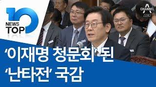 '이재명 청문회' 된 '난타전' 국감
