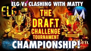 Clash Of Clans | EpicLifeGaming Vs ClashingWithMatty | Clash of Clans Draft Challenge Tournament