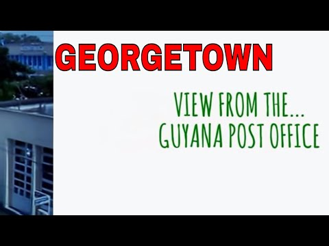 GUYANA - View From The Post Office In Georgetown Guyana 2015