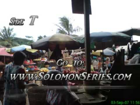 A modern market in Africa