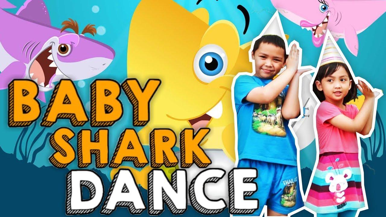 BABY SHARK DANCE CHALLENGE - YouTube