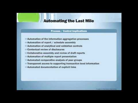 Webinar: Avoiding Common Errors in XBRL with Special Guest Mike Willis, PwC