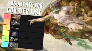 The Arguments for God's Existence Tier List