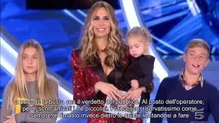Gf Vip, sorpresa per Ilary Blasi: in studio Francesco Totti e i figli