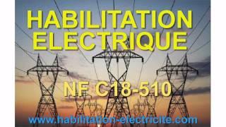 Habilitation électrique Généralités V1