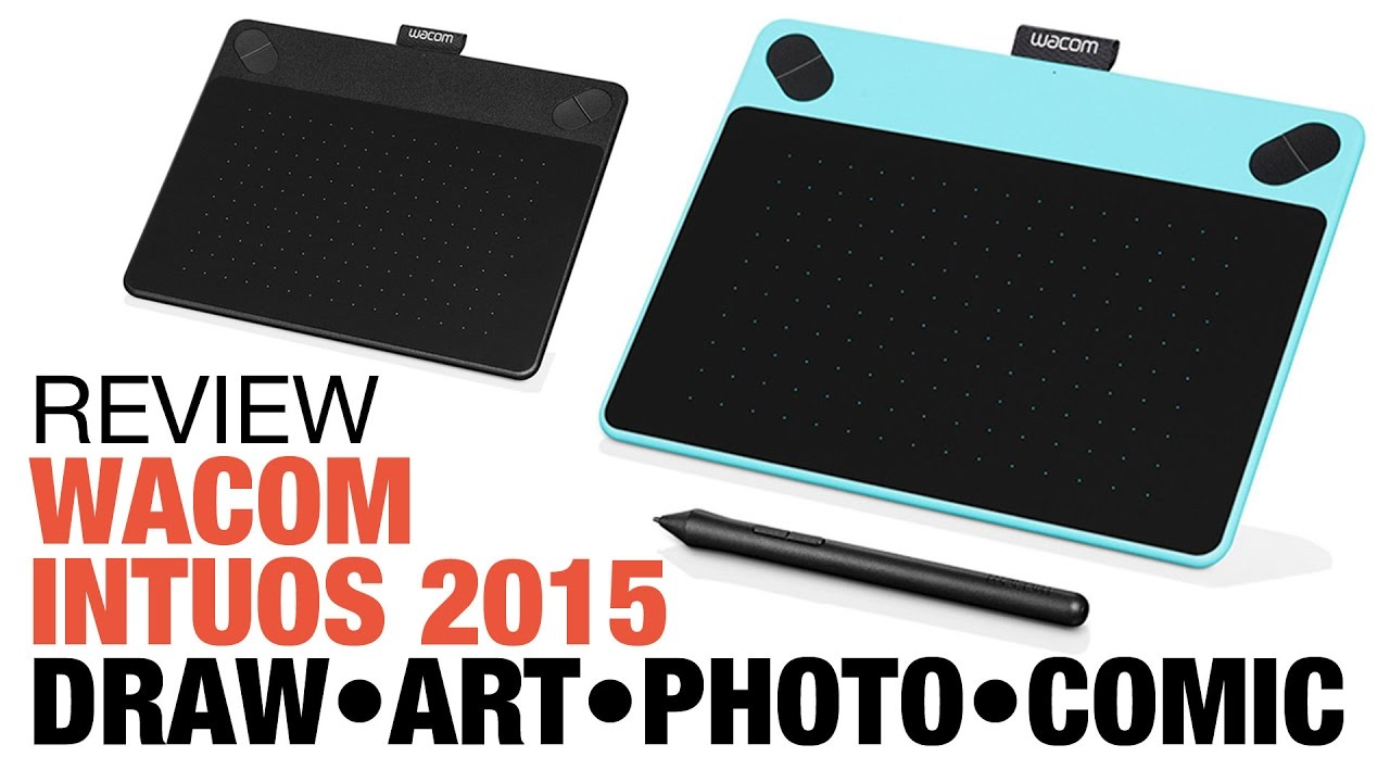 Wacom Intuos Pro Medium Review: Wacom Intuos 2015 Tablet: Draw Art Photo Comic