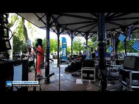 France Bleu Isère fête la musique au Jardin de ville de Grenoble - YouTube