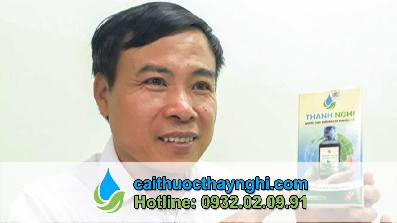 Giới thiệu nước súc miệng cai thuốc lá Thanh Nghị