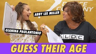 Abby Lee Miller vs. GiaNina Paolantonio - Guess Their Age