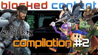Snake CODEC CALL Conversation COMPILATION #2 (Super Smash Bros. Ultimate) - Blocked Content