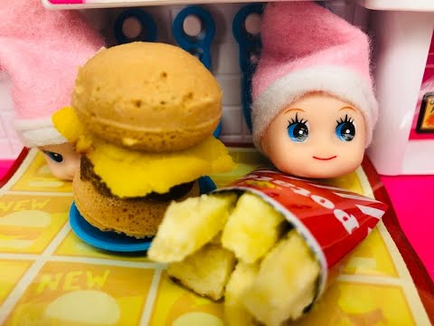 Elf CAUGHT COOKING Burgers & Fries