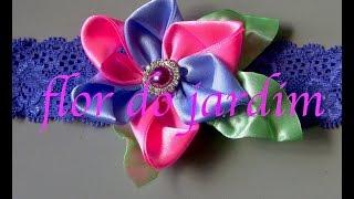 Flor facil bonita e rapida Passo a Passo por flor do jardim