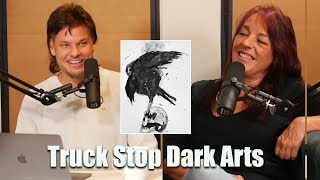 Truck Stops Are The Mecca of the Dark Arts | Theo Von and A Female Trucker