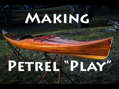 """Making the """"Petrel Play"""" Cedar Strip Kayak - Project Recap"""