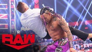 Damian Priest vs. The Miz \u0026 John Morrison – Handicap Match: Raw, April 12, 2021