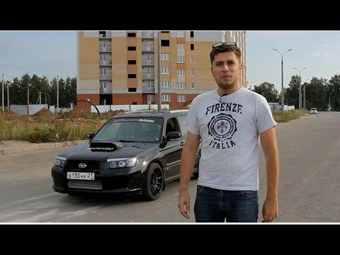 Subaru Forester(500 л.с.) Тест-драйв.Anton Avtoman.