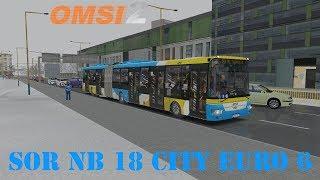 OMSI 2 SOR NB18 City Euro6 DP Košice #4757
