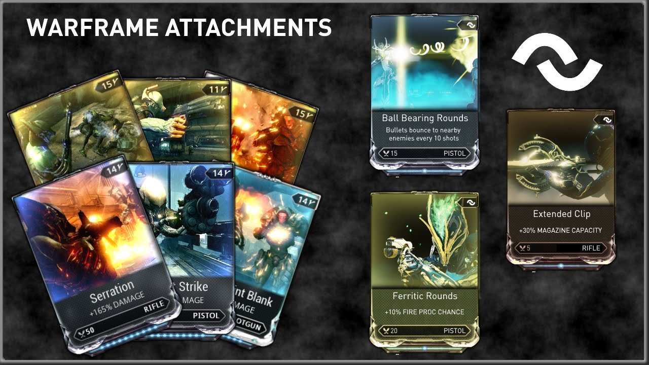 warframe how to get attachments