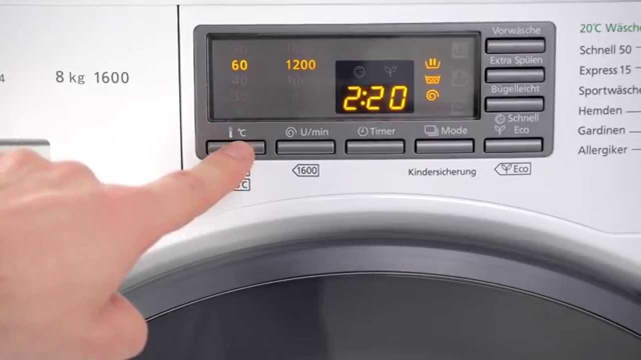 panasonic na 168vg4 waschmaschine test youtube. Black Bedroom Furniture Sets. Home Design Ideas