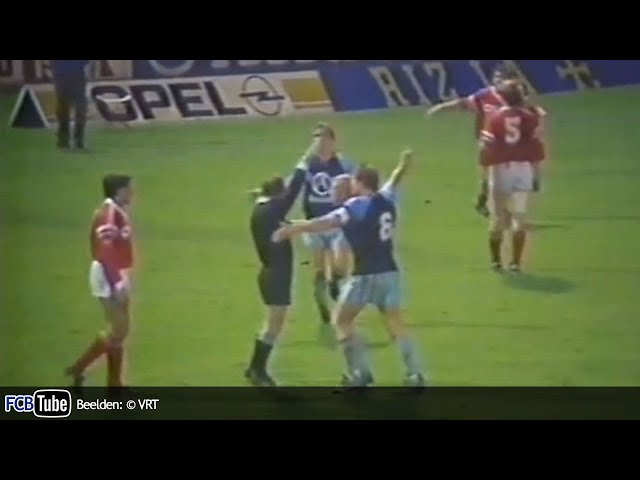 1988-1989 - Jupiler Pro League - 13. Standard - Club Brugge 0-0
