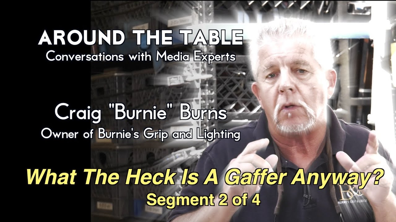 Around The Table:   Burnie The Gaffer / show 1 /seg 2