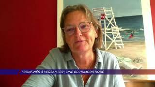 Yvelines | «Confinés à Versailles», une BD humoristique