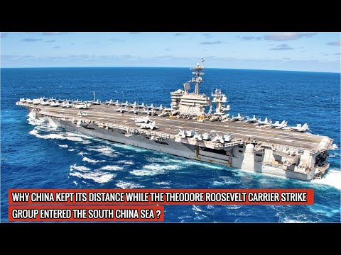 Theodore Roosevelt Carrier Strike Group enters South China Sea | China doesn't dare to challenge it!