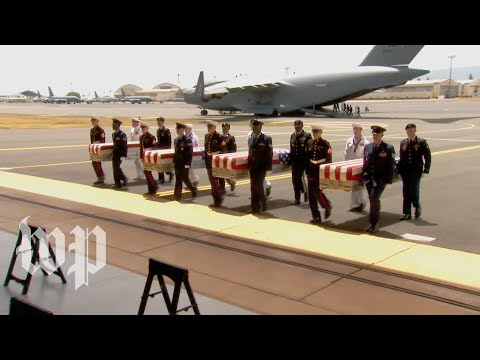 pence-at-ceremony-for-return-of-possible-korean-war-remains