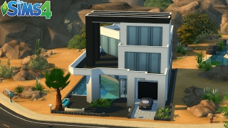 Les Sims 4 : Maison Moderne  / Construction - Speed build
