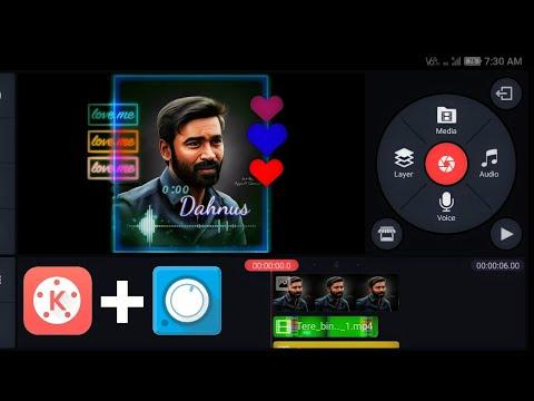 How To Create Green screen status | kinemaster | avee music player | tutorial thumbnail