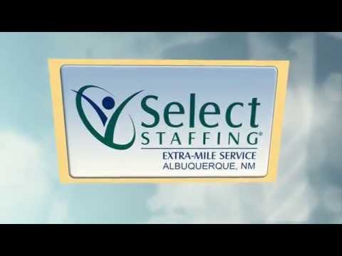 Select Staffing- Staffing Agency in Albuquerque
